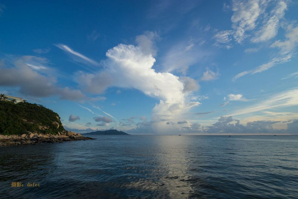 珠海风景矢量图