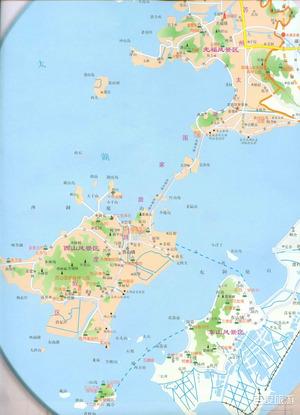 西湖手绘地图2018