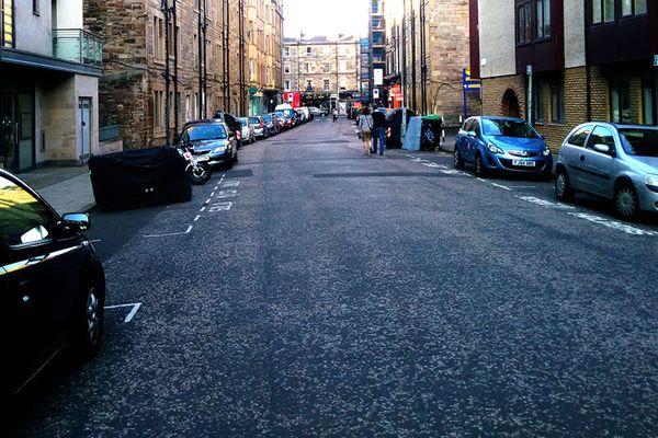 英伦街道风景图片