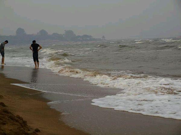 秦皇岛海滩图片