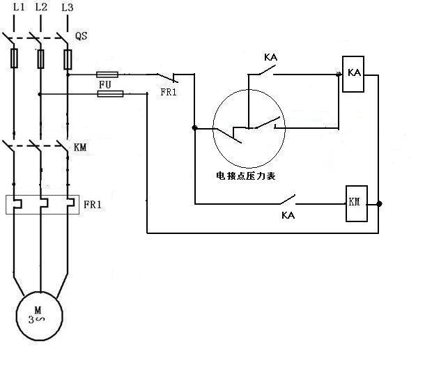 求助啊 加急 水塔水位的 主电路 控制电路 元器件列表
