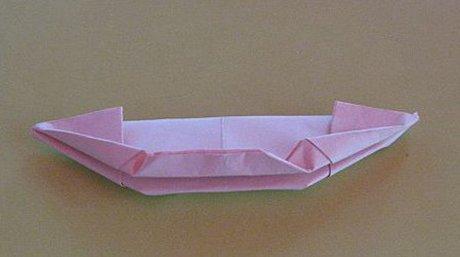 纸船手工制作步骤