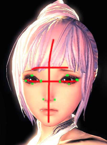 并且画眼睛的时候并没有注意两只眼睛同步绘画,而是刻画完再看效果.