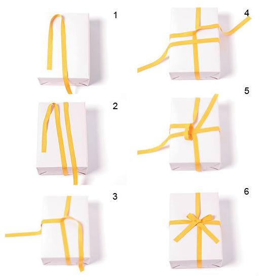 礼物盒蝴蝶结怎么绑
