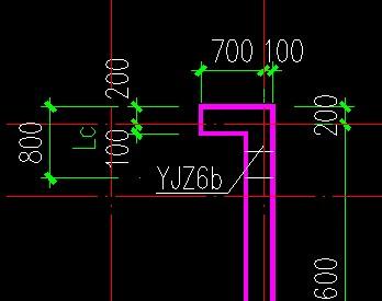 图纸上暗柱与剪力墙部份有LC,在广联达里精雕软件大太图纸图片