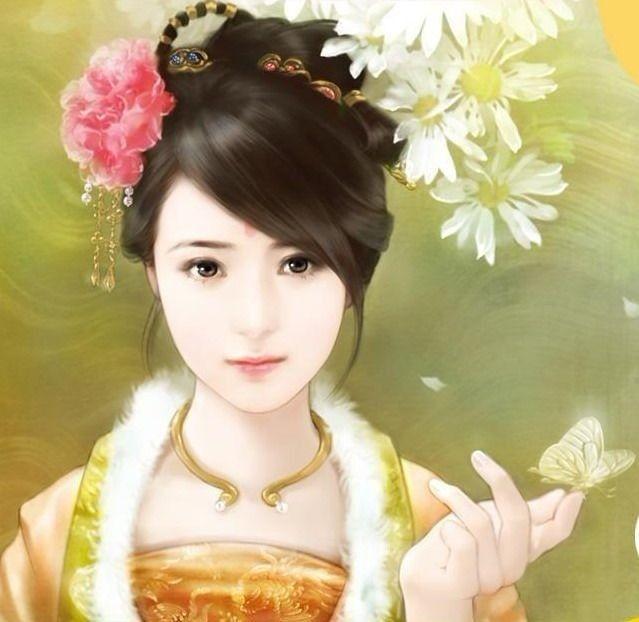 有什么古代美女图片,我用来抠图制作游戏