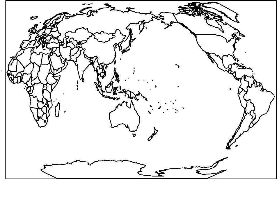 求一张由各个国家地图分块拼接而成的世界地图矢量图