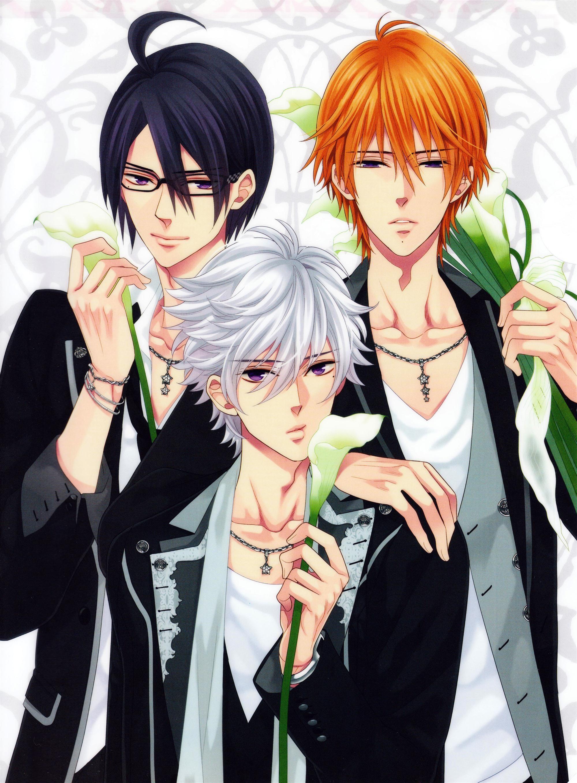 朝日奈明开b_brothers conflict/兄弟战争 里面的三胞胎兄弟 朝日奈椿/asahina