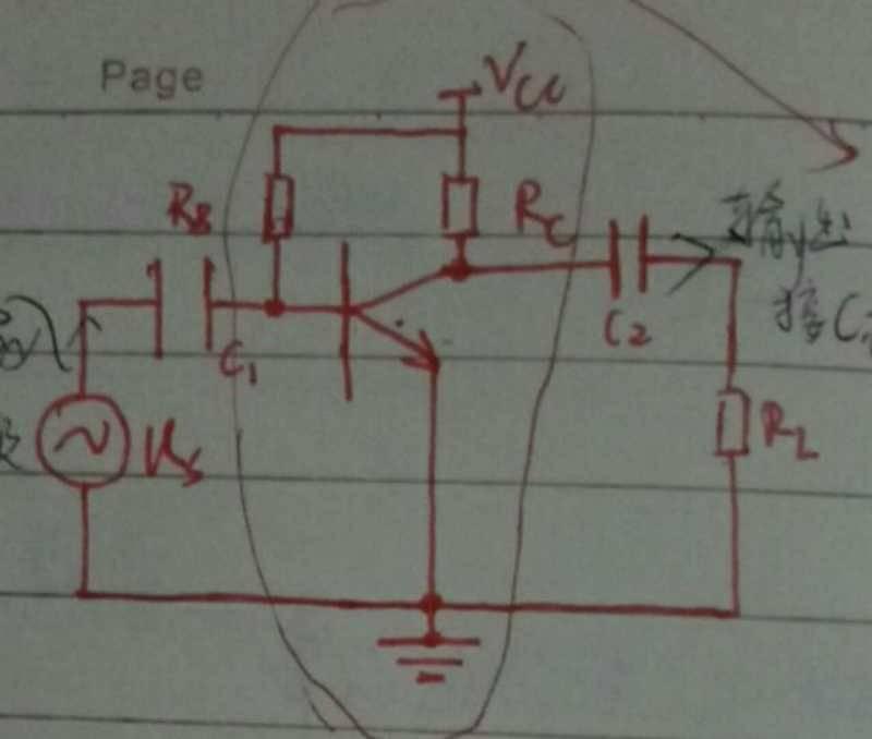 模拟电路,这个电路怎么用叠加定理画出两个电源等效图