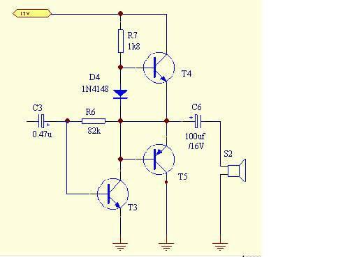 求一张最简单的3w 4Ω的功放电路图