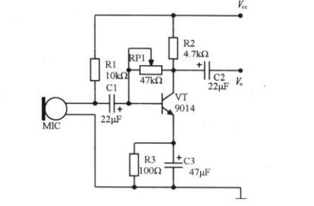 为什么这个耦合电容的正极接到三极管的基极?