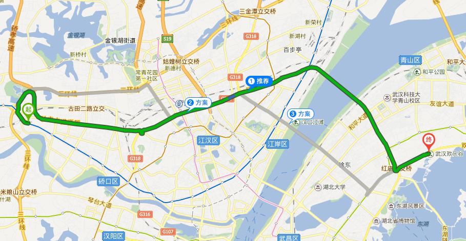 武汉舵落口到欢乐谷有多远图片