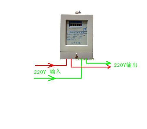 求 家用电子电表接线图 简单的 急,,急,,急,,急,,请高手指教!