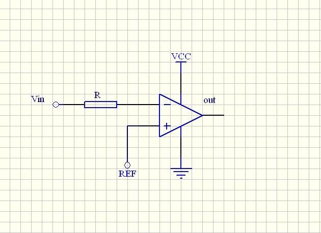 跪求lm358过程过零比较器电路图