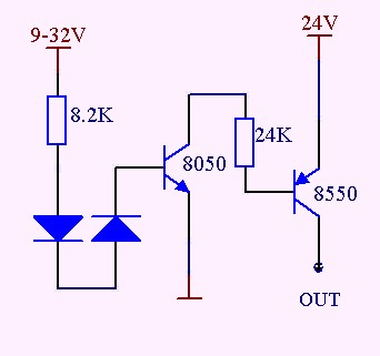 pnp基本放大电路图