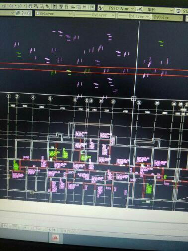 CAD图纸许多线删不掉不见又放大了工程学传送图纸图片