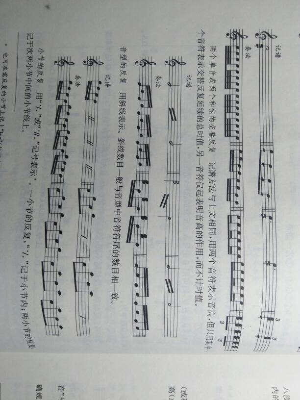 康康舞曲钢琴谱中左手的波浪线怎么弹?图片