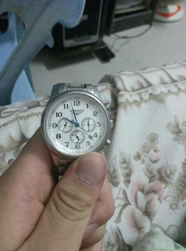 我的这款浪琴机械手表型号是l2.668.4all不知道这款手表是不是真的?图片