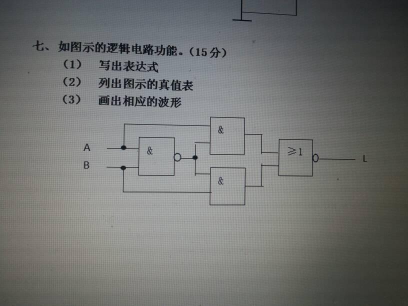 的答案 3条回答  同或门电路原理,百度同或门就明白了   一个世界有你