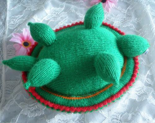 毛线编织乌龟的方法和成品图