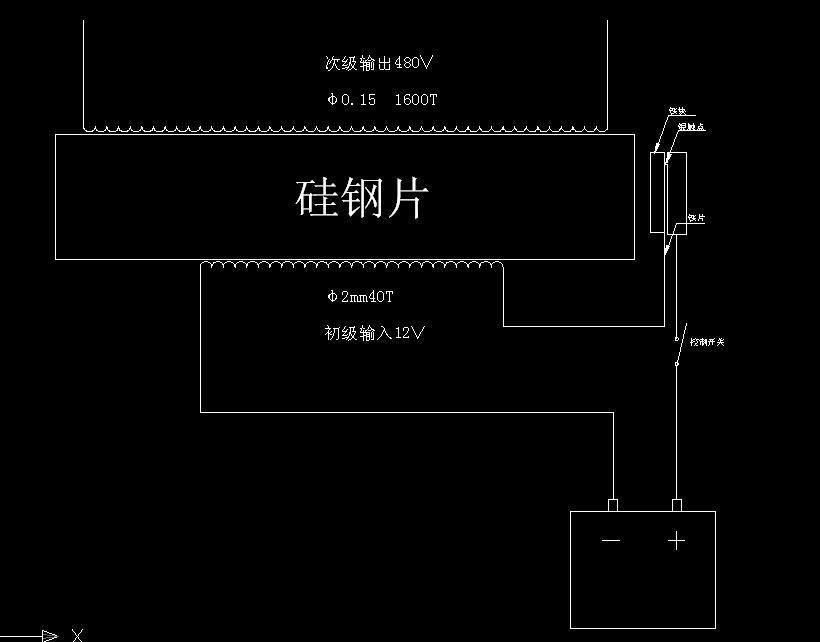 电鱼机简单电路图