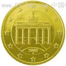 根据你说的背面有宫殿图案,那就是德国发行的10欧分硬币.图片