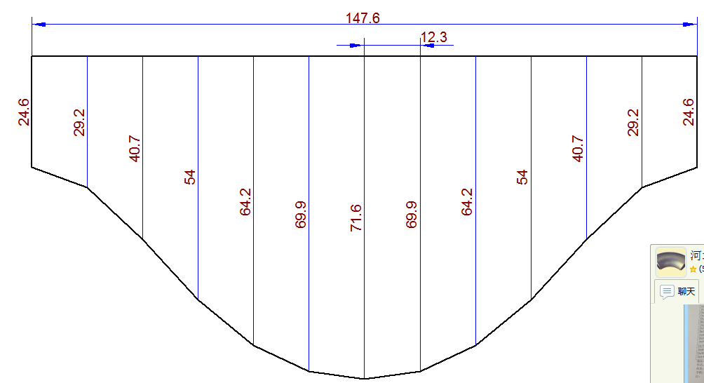一个圆管上插一个45°角的圆管怎么放样
