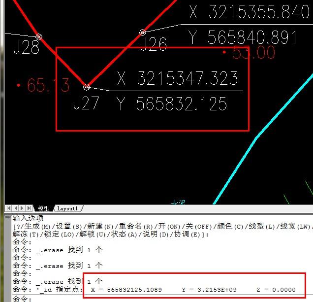 CAD坐标标注出的小数点和v坐标的位数差3位怎cad太布局粗线条图片