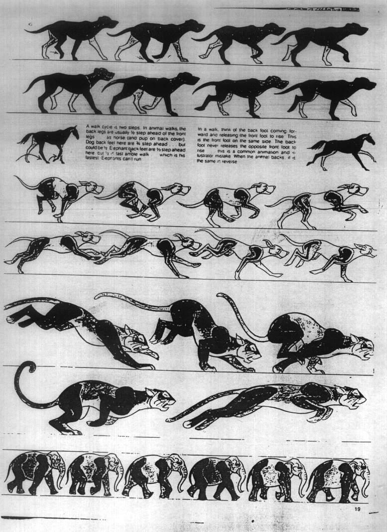 求maya 四足动物(豹,虎之类的)跑步动画制作教程(答对