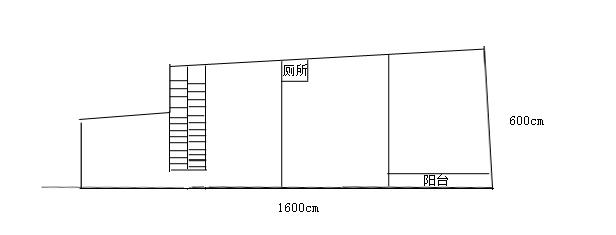 6米x16米房屋平面设计,如何规划,求建筑设计师们给点建议,稍微画个