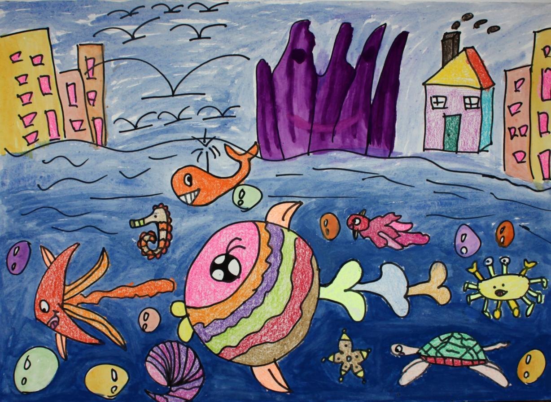 全国儿童绘画大赛获奖作品集的介绍图片