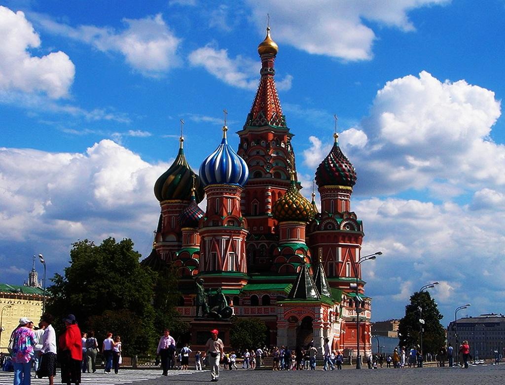 俄罗斯红场上的教堂叫什么名字图片