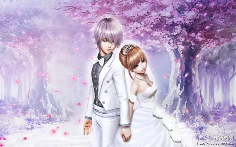 qq炫舞2图片 一对情侣坐木马的图 和一些温馨的情侣图