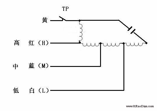 电机布线图和接线图,调速电机我不懂,里边的起动绕组好像是三根线并绕