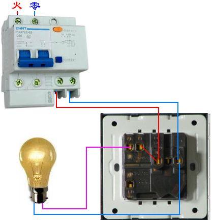 一开五孔的插坐,用开关控制灯怎么接法?有四根线 两红两黄.要图解