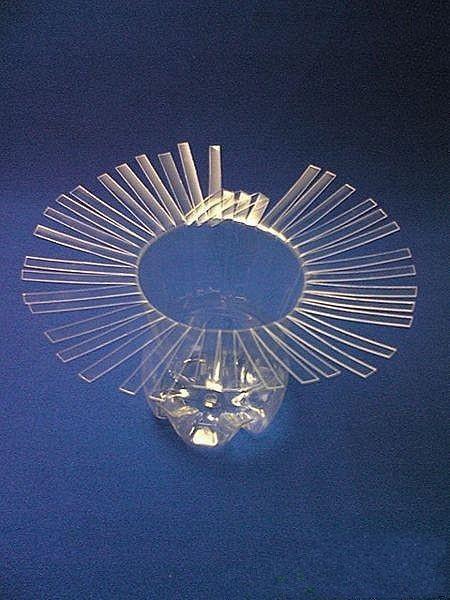 如何用塑料瓶做花瓶 简单手工艺品