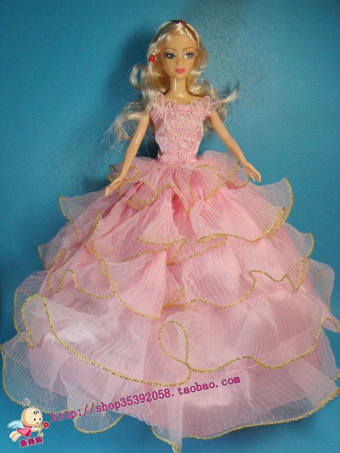 怎么做芭比娃娃衣服带图的
