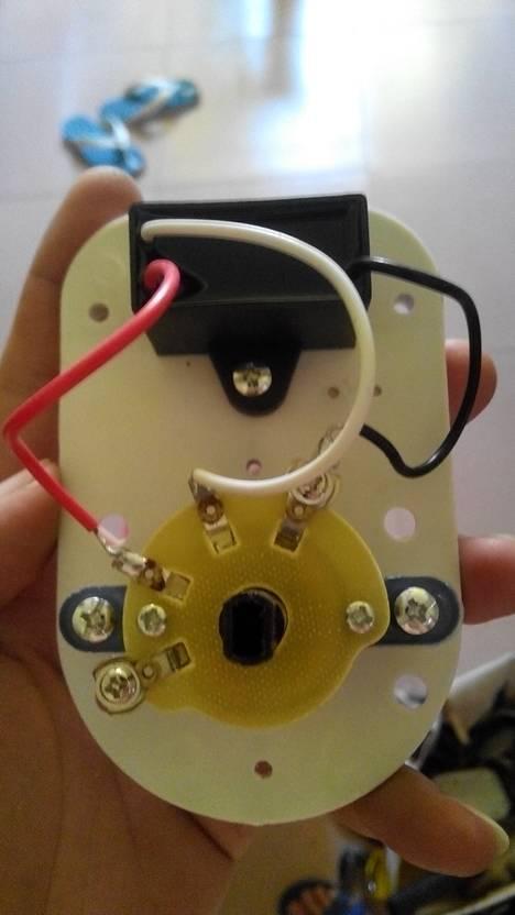电风扇,调速开关接线图是否有错?1和3挡是否错了?