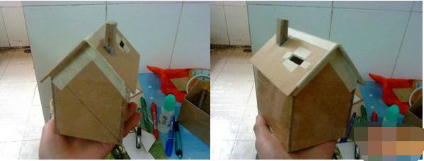 手工制作大全房子是用纸做的
