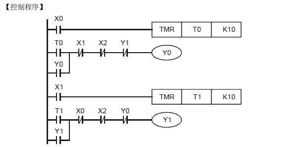 台达plc编程时间继电器怎么编
