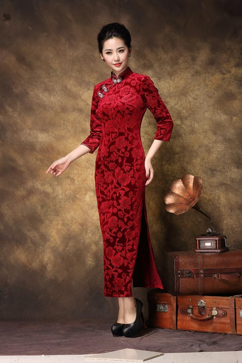 请问这个淘宝旗袍网拍模特叫什么名字?很多旗袍都是她网拍的