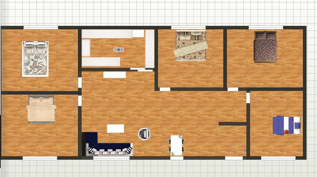 九米长六米宽房屋设计图