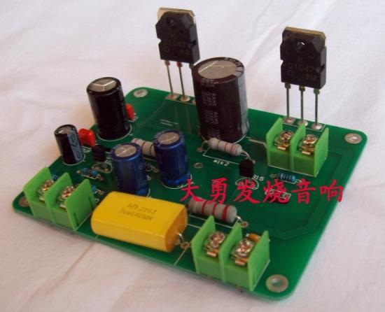 制作电子分频功放;制作高品质耳机放大器(用本电压放大板推动k214/j77