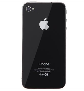 苹果手机后面苹果标志是黑的还是白的?图片