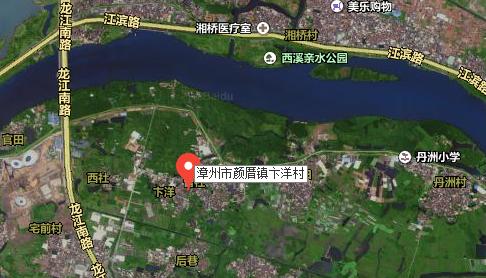 应该是漳州市颜厝卞洋村,全景卫星地图如下
