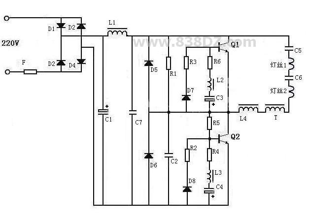 飞利浦b6x23a电路图