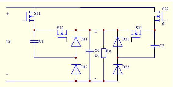 用开关电容电路设计的降压dc-dc转换电路从5v降为1v,请大神帮我算算个