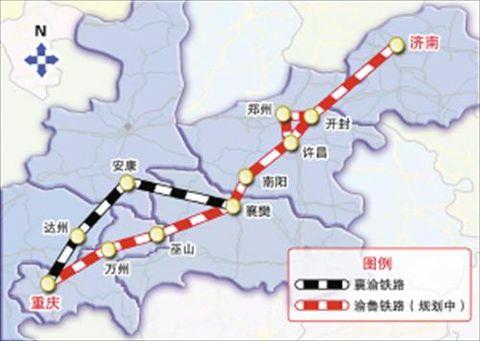 宁西铁路西端北接包西线,经京包铁路沟通华北;南连即将完成扩能改造