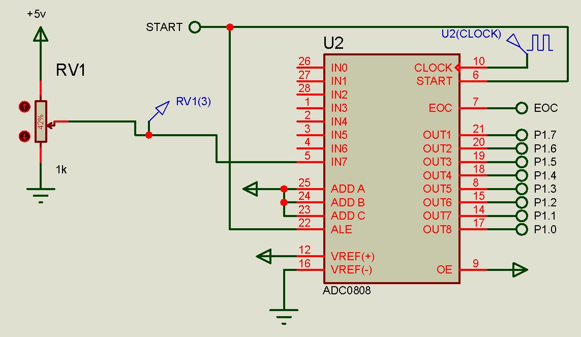 我不会控制adc0808,我只会用adc0804 追问 这两个模数转换工作一样?