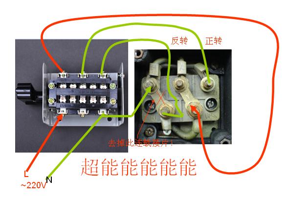 三相电动机只要改变相序,就能改变旋转磁场的方向,从而也改变了三相电